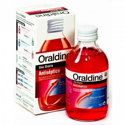 ORALDINE ENJUAGUE 0,1% DE 200 ML