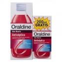 ORALDINE ANTISEPTICO 400 ML+200ML GRATIS