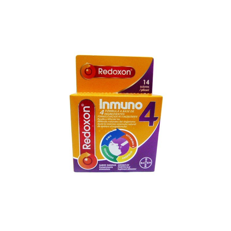 REDOXON INMUNO 4 14SOBRES