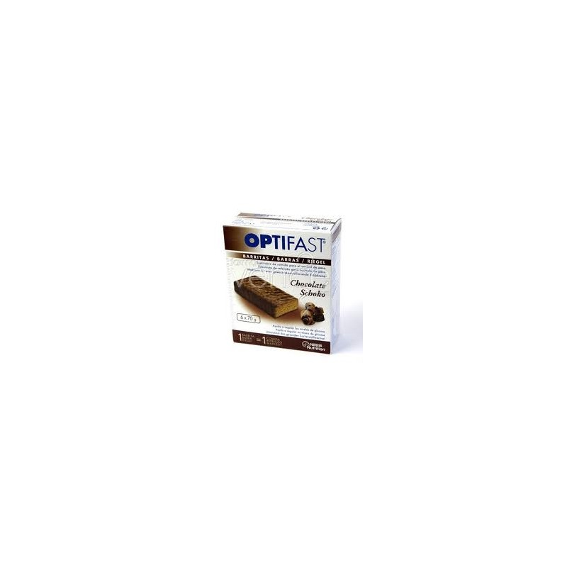 OPTIFAST CHOCO 70 G 6 BARRITAS