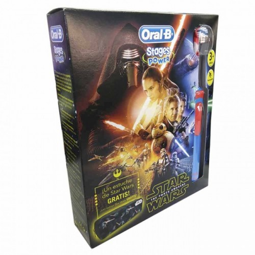 ORAL-B CEPILLO ELECTRICO KIDS STAR WARS +3AÑOS
