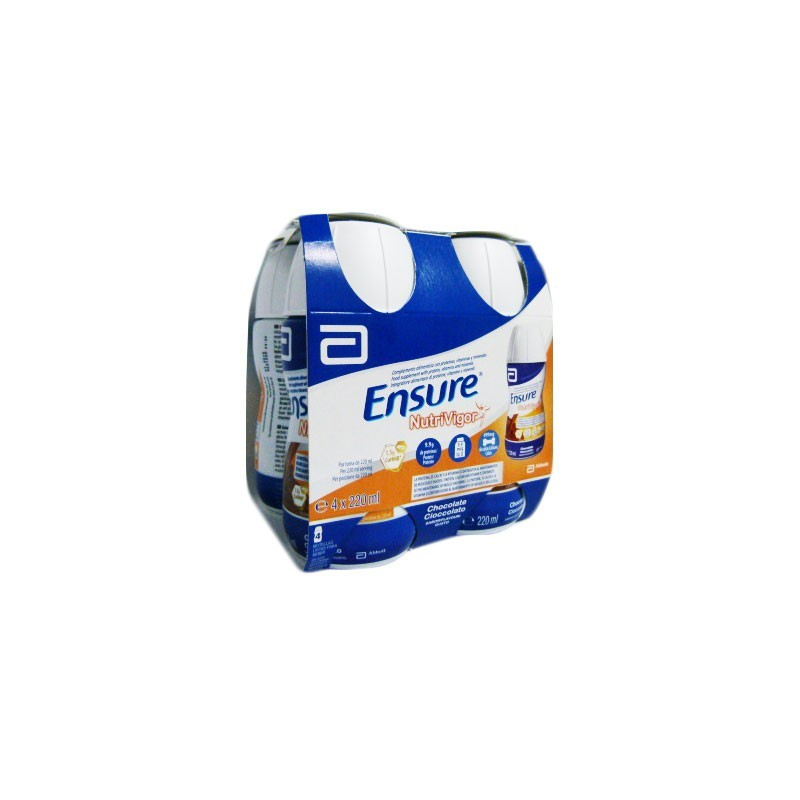 ENSURE NUTRIVIGOR CHOCO 4 X 220 ML