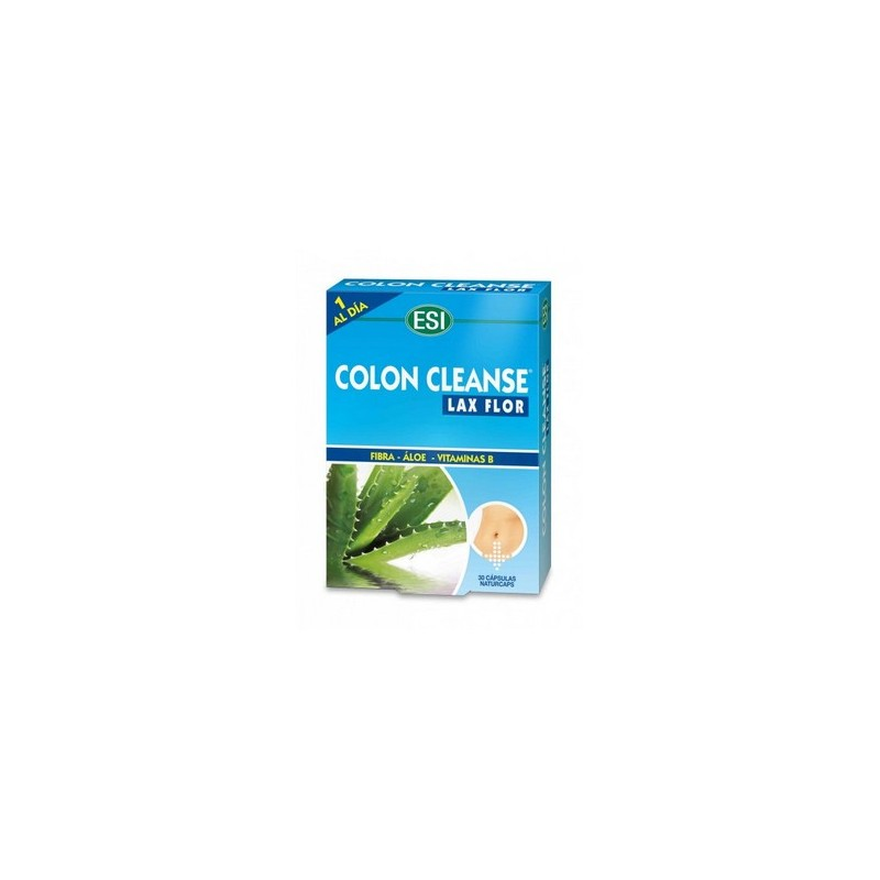 COLON CLEANSE FLOR 30 CAPSULAS LAXANTE