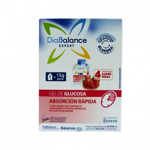 DIABALANCE EXPERT GEL GLUCOSA ABSORCION RAPIDA 4