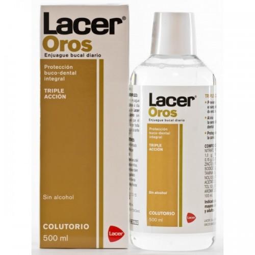LACER OROS FLUOR COLUTORIO 500