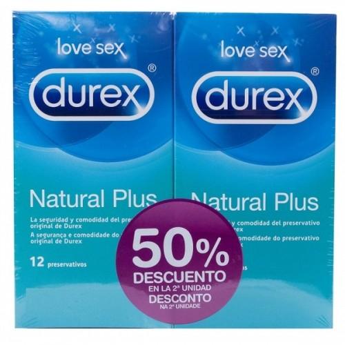 DUREX NATURAL DUPLO 50% DTO 2ª UNIDAD