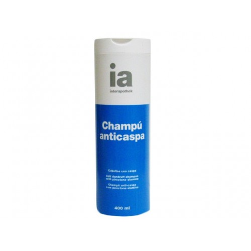 INTERAPOTHEK CHAMPU ANTICASPA 400 ML