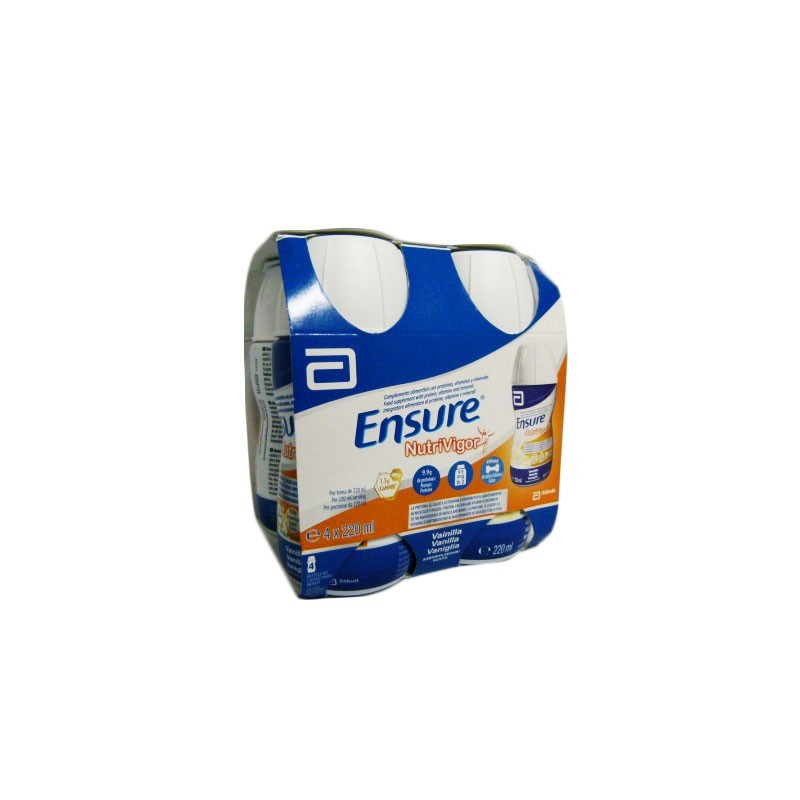 ENSURE NUTRIVIGOR VAINILLA  4X 220ML