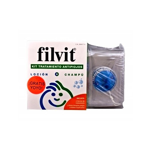 FILVIT KIT TRATAMIENTO LOCION 100ML+CHAMPU 100ML