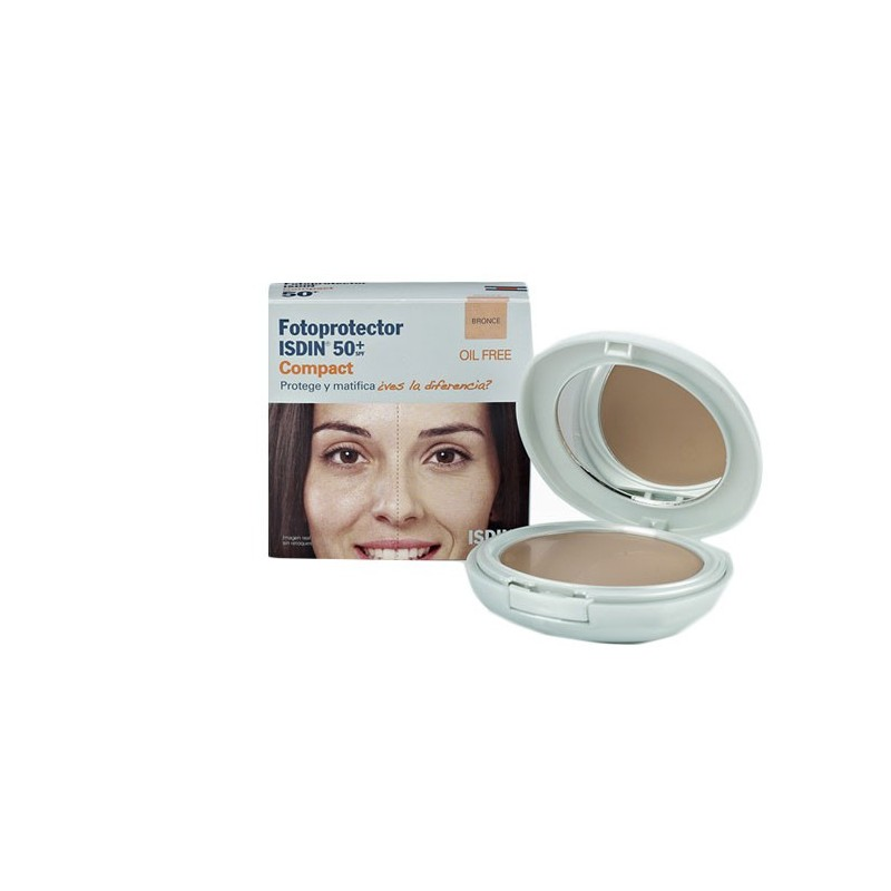 ISDIN FOTOPROTECTOR COMPACTO BRONCE 50+