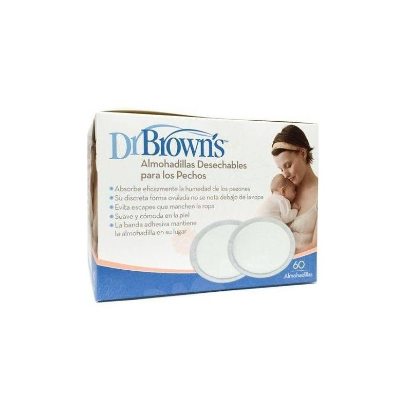 DISCOS ABSORBENTES DR BROWN'S DESECHAB 60 DSCOS