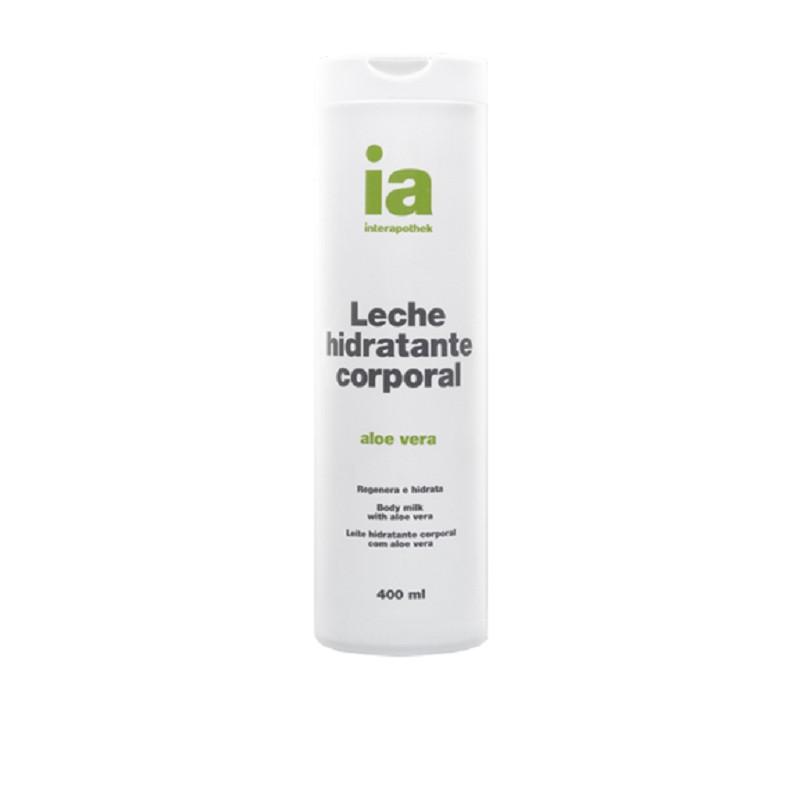 INTERAPOTHEK LECHE CORPORAL ALOE 400 ML