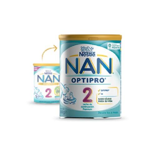 NAN 2 LECHE PARA LACTANTES DE CONTINUACION 800 G