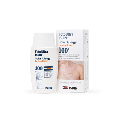 ISDIN FOTOULTRA SOLAR ALLERGY FUSION FLUID 50 ML