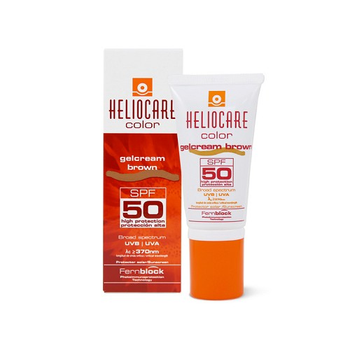 HELIOCARE GELCREMA COLOR BROWN 50 ML