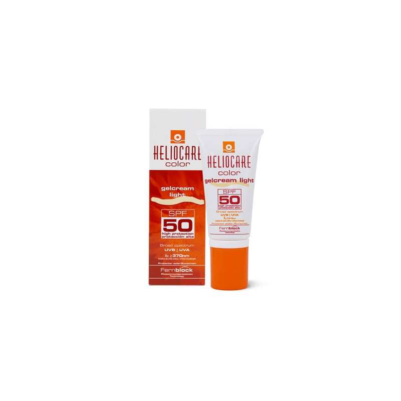 HELIOCARE GEL CREMA COLOR LIGTH SPF50 50 ML