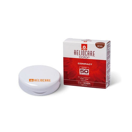 HELIOCARE COMPACTO SFP 50 COLOR BROWN 10 G