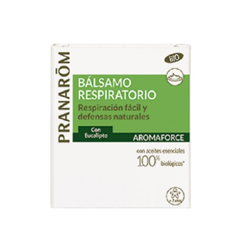 PRANAROM AROMAFORCE BALSAMO REPIRATORIO 80ML