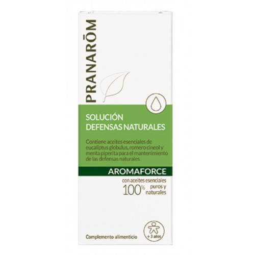 PRANAROM AROMAFORCE SOL. DEFENSAS NATURALES 5 ML