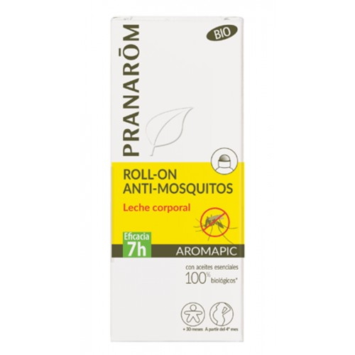 PRANAROM AROMAPIC LECHE  CORPORAL BIO ROLL ON 75