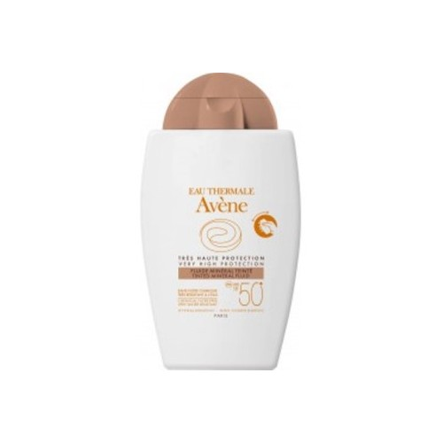AVENE SPF 50+ FLUIDO MINERAL COLOR FISICA 40 ML