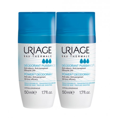 URIAGE DESODORANTE ROLL ON 50ML 2U 50%