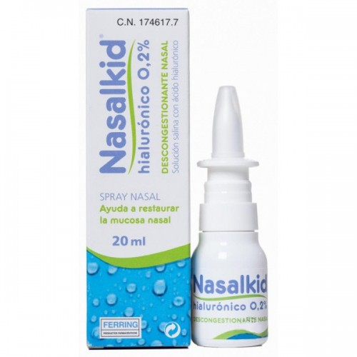 NASALKID NASAL SPRAY HYALU20ML