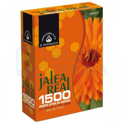 JALEA REAL 1500 EL NATURALISTA 20 VIALES