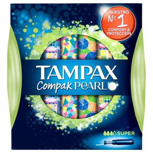 TAMPAX COMPACK PEARL SUPER 16UDS