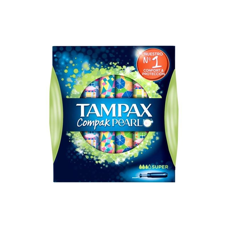 TAMPAX COMPACK PEARL SUPER 18