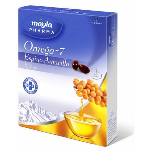 OMEGA- 7 ESPINO AMARILLO MAYLA 30 CAPS