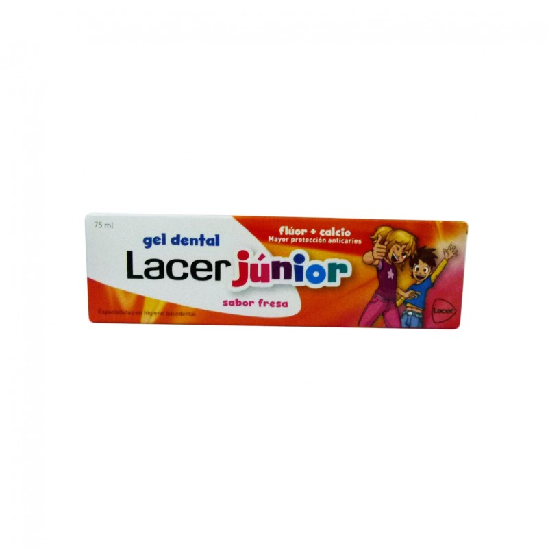 LACER GEL DENTAL JUNIOR FRESA 75 ML