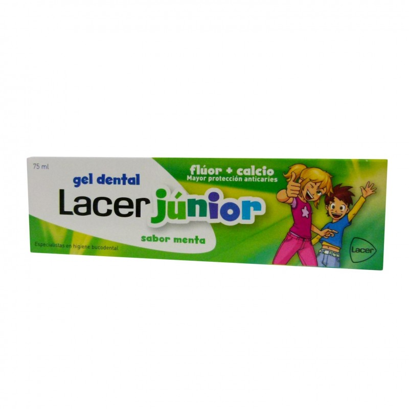 LACER JUNIOR GEL DENTAL 75 ML MENTA