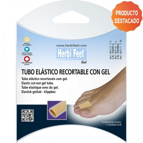 HERBIFEET TUBO RECORTABLE  GEL T. XL