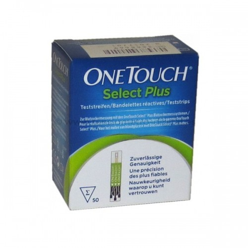 ONE TOUCH SELECTPLUS 50 TIRAS