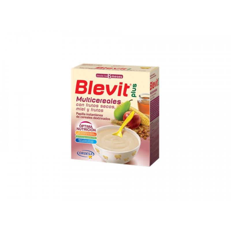 BLEVIT PLUS FRUTOS SECOS Y  MIEL 600G
