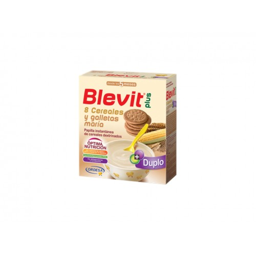 BLEVIT PLUS 8 CEREALES+GALLLETA 600G