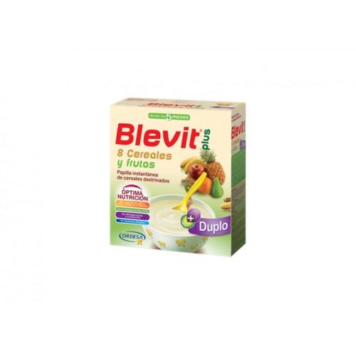BLEVIT PLUS DUPLO 8 CEREALES Y FRUTAS 600G