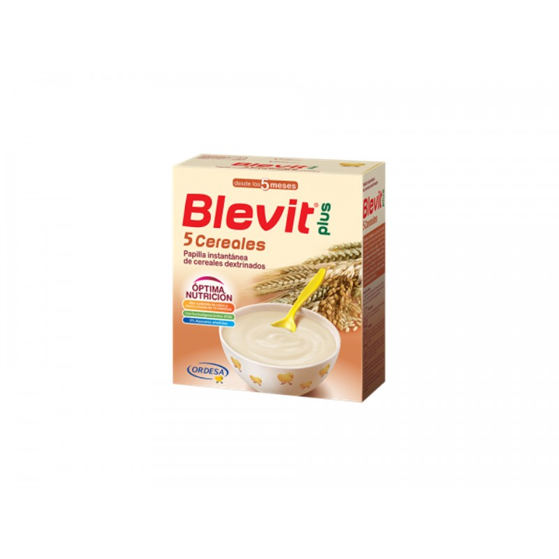 BLEVIT PLUS 5 CEREALES 600 GRAMOS