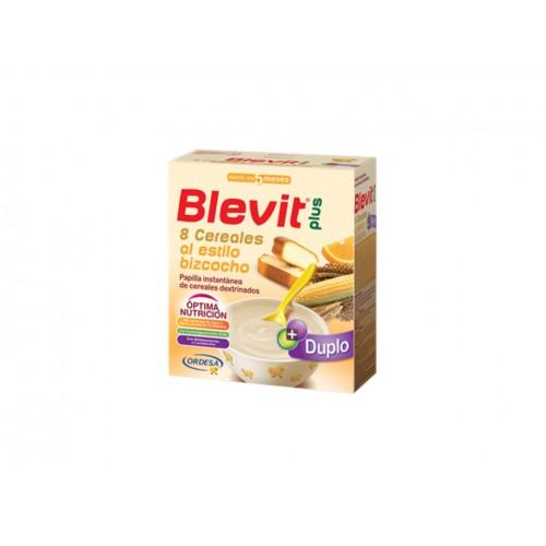 BLEVIT PLUS DUPLO 8 CEREALES+BIZCOCHO 600G