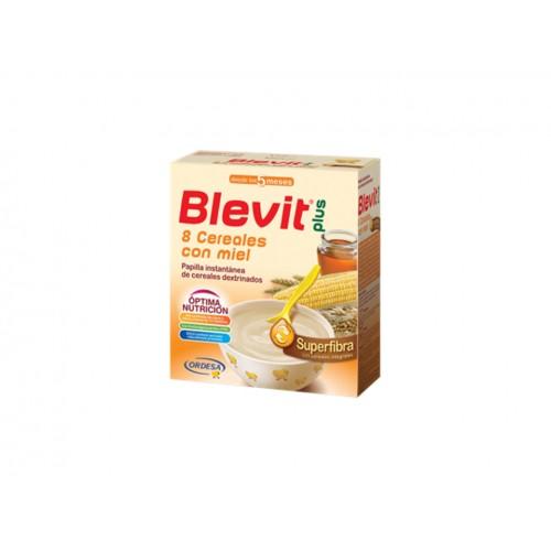 BLEVIT PLUS SUPFIBRIBRA 8 CEREALES+MIEL 600G