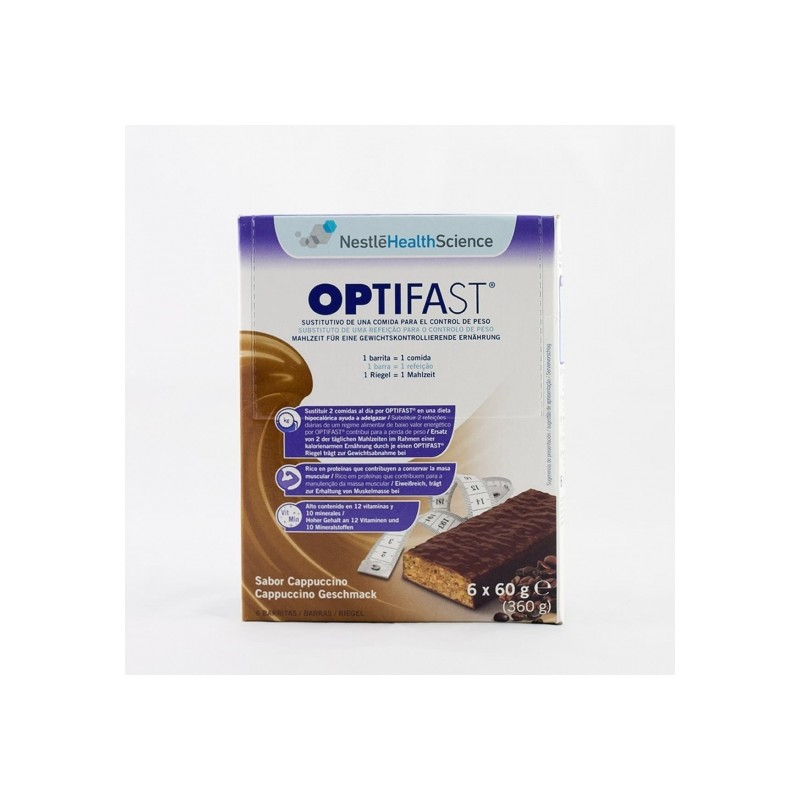 OPTIFAST CAPPUCCINO 60 G 6 BAR