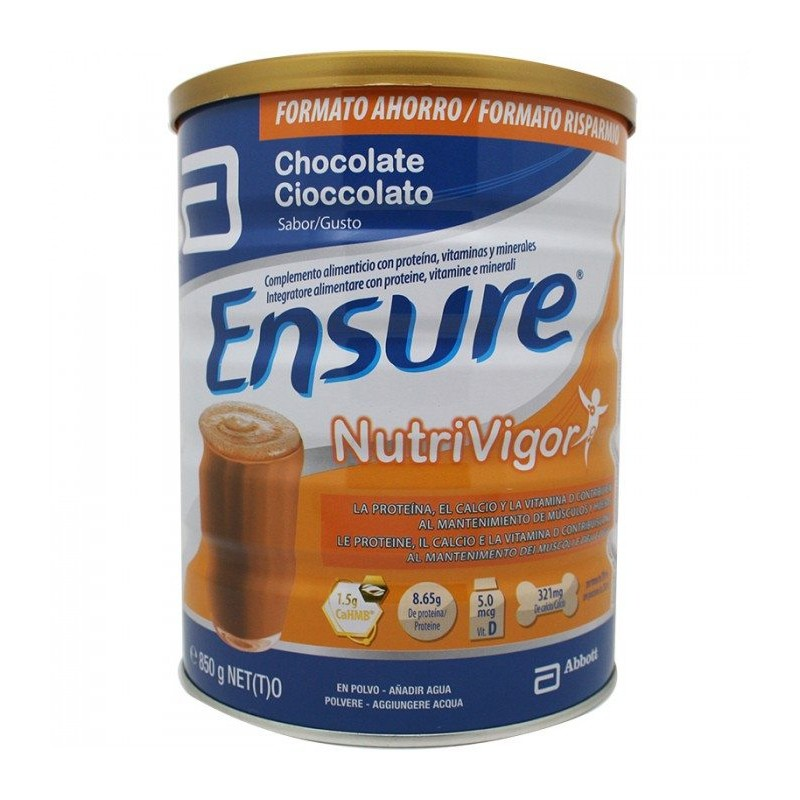 ENSURE NUTRIVIGOR CHOCOLATE 400G