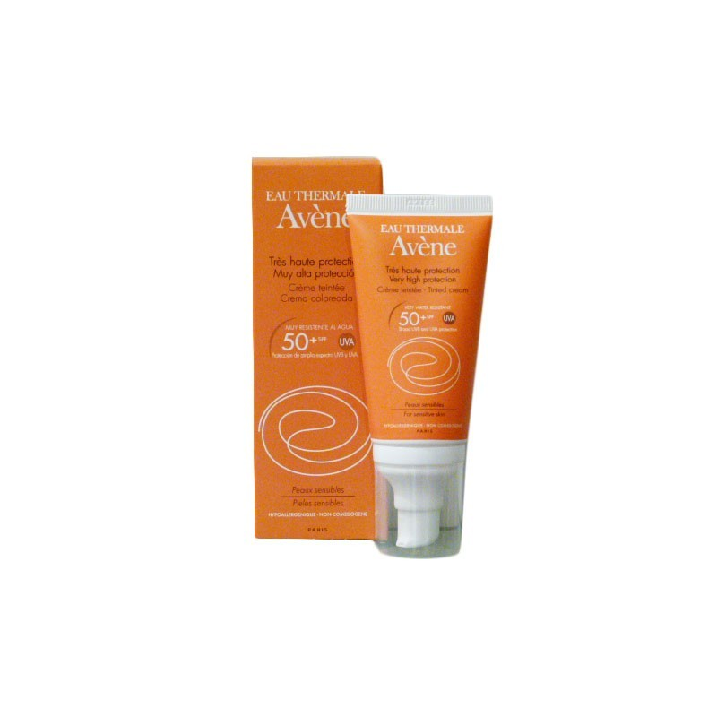 AVENE SOLAR CREMA 50+ COLOR 50ML  P.NORMAL,SECA