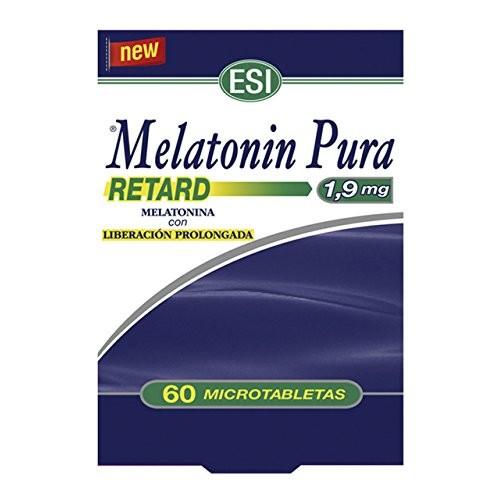 MELATONIN RETARD PURA 1.90 MG 60 TABLETAS