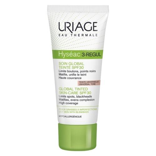URIAGE HYSEAC 3 REGUL CUIDADO GLOBAL SPF30 COLOR