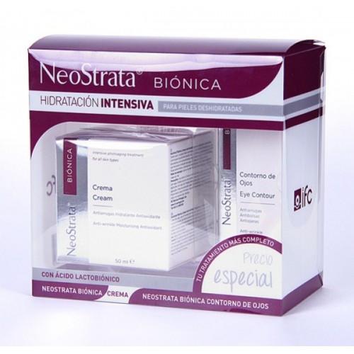 NEOSTRATA BIONICA PACK CREMA +CONTORNO OJOS