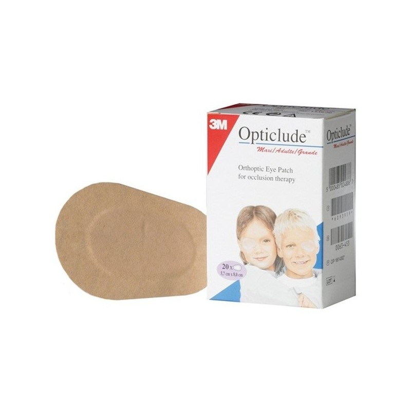 OPTICLUDE 20 PARCHES PQ