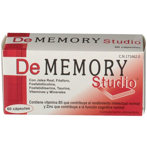 DEMEMORY STUDIO 60 CAPSULAS PARA LA MEMORIA