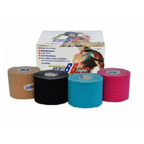 VENDA NEUROMUSCULAR BB TAPE 5 CM X 5 METROS